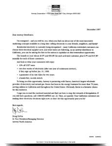 Amway-Enron-Letter